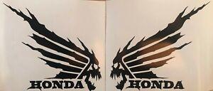 Honda Death Wing Decal Set Motorcycle Fuel Gas Tank CBR 650 1000 500 150 300