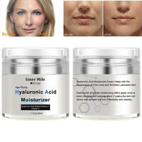 Hyaluronic Acid Gel Cream-Intense Anti-Aging Wrinkles Face Eye Serum Moisturizer