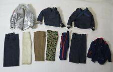 Vintage Hasbro GI Joe Jackets & Pants Uniform Clothing Lot
