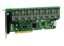 OpenVox A800P80 8 Port Analog PCI Base card + 8 FXS + 0 FXO, Ethernet (RJ45)