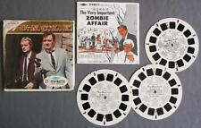 """Three Reel View-Master Set w/Booklet The Man From U.N.C.L.E. """"Zombie Affair"""""""