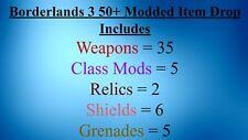 Mayhem 10 50+ Modded Item Drop INSANELY AWESOME GEAR BL3 PS4