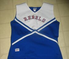 Real Cheerleading Uniform Adult Large Rebels uniform Top Only