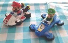 voiture kart et figurine MARIO et LUIGI nintendo mcdo