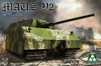 TAKOM 2050 WWII German Super Heavy Tank Maus V2 in 1:35 Panzer Modellbausatz