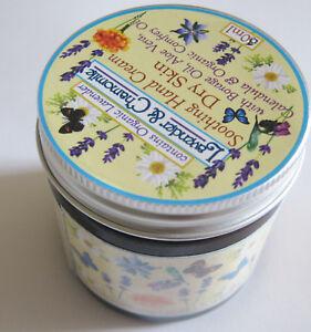 """Lavender (organic) & Chamomile"",Calendula & Comfrey EssentialOil 60ml Handcream"