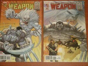 Marvel Comics:  WEAPON H  #1 - #12 Complete Set 2018 Hulkverine! Greg Pak