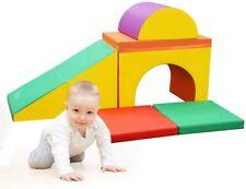 Toddlers Baby 5-Pcs Diy Climbing Crawl Activity Play Set Safe Foam Blocks Soft