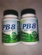 Lot of 2 PB 8 Probiotics 60 Vegetarian Capsules Each 8/19