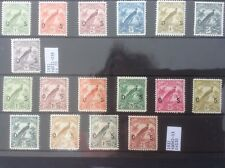 Australia New Guinea 1931 - 1932 Very Nice Range Of Officials. Mh.