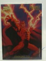 1994 Marvel Masterpieces series 3 Power Blast Magneto 6 of 9