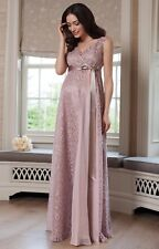 Tiffany Rose Maternity dress gown - Blush THEA - Size S/M