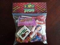 Teenage Mutant Ninja Turtle Treat Goodie Bag Toppers Birthday Party Favors 6pc