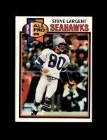 1979 Topps Football #198 Steve Largent (Seahawks) NM-MT