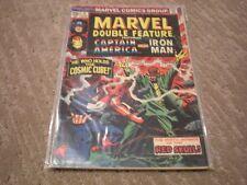 Marvel Double Feature #4 (Jun 1974) Marvel Comics Iron Man, Capt America FN/VF