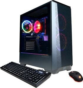 CyberPowerPC - AMD Ryzen 5 3600 - 8GB Memory -AMD Radeon RX 580 - 500GB SSD