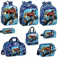 Blaze & The Monster Machines OFFICIAL Backpack Rucksack Travel School Lunch Bag