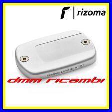 Coppia coperchi pompe freno RIZOMA YAMAHA T-MAX 530 17 argento TMAX 2017 ZYF036