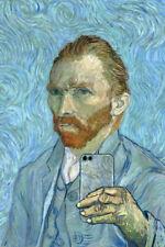 Vincent Van Gogh Selfie Portrait Painting Funny Poster 12x18 Poster - 12x18