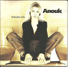 ANOUK Nobody's Wife CARD SLEEVE Limited EUROPE CD Single SEALED USA Seller 1997