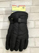 Xersion Cold Weather Gloves Mens S/M Ski Gloves 3M Thinsulate Insulation Black
