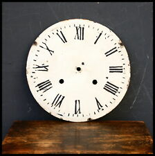 Antique Clock Dial 25cm Metal Display Prop Shabby Chic