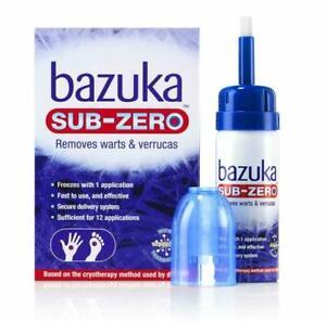 Bazuka Sub-Zero Warts & Verrucas Treatment, 50ml