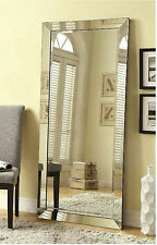 Mirrors for Wall Full Length Free Standing Floor Mirror Lean Body Beveled Large