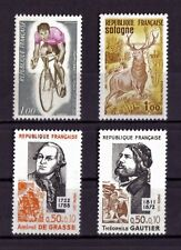 LOT DE TIMBRES N° 1724/1725/1727/1728 NEUF**