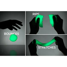 Hand Plasticine Luminous Slime Play Dough Night Light Rubber Mud Clay Fidget Toy