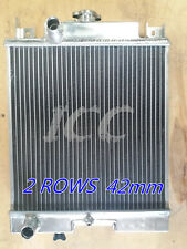 2 Row Aluminum Radiator Geo Metro Chevy Sprint Suzuki Swift MT 1989-94 1.3L 1.0L