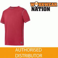 Unifarbene Sport Kurzarm Herren-T-Shirts