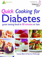 Quick Cooking for Diabetes: Great Tasting Food In 30 Minutes Or Less, Norma McGo