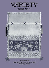 Carmela Testa #4 c.1927 Vintage Instruction in Assisi Work & Italian Hemstitch