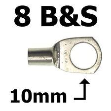 DUAL BATTERY SYSTEM LUGS 8 B&S  10mm EYE ABR SIDEWINDER