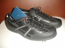 New Bally Golf Challenge Size 10 Black White Shoes Leather Women Sneakers