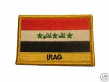 Iraq Embroidered Flag patch-Iron on orSew