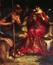 John William Waterhouse Jason And Medea Fr A4 Print
