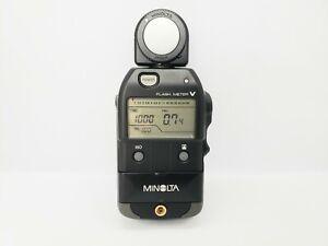 [MINT] Minolta Flash Meter V Ambient/Flash Light meter From JAPAN #244