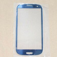 Front Outer Screen Lens Glass for Samsung Galaxy SIII S3 T999 i747 i9300 Blue