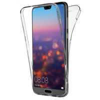 """Coque Etui Housse 360° Clear FULL TPU Gel Silicone pour Huawei P20 Pro 6.1"""""""