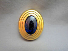 Boucheron Parfums solid perfume pendant gold Plated Pendant Cobalt Blue 0.04 oz