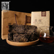 Hunan Anhua Bai Sha Xi Dark Tea Golden Flower Fu Zhuan Black Tea 750g