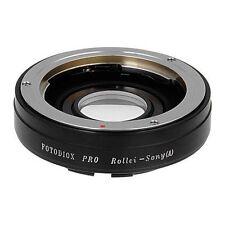 Fotodiox Objektivadapter Pro Rollei 35 (SL35) SLR Linse für Sony Alpha A