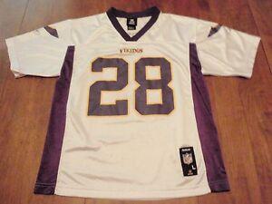 Adrian Peterson Minnesota Vikings Reebok NFL Players Jersey Youth Large (14-16)