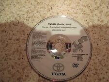 Toyota TNS 310 Sat Nav Disc Satelliten Navigation Europa 2005-2006 VER.1 Free p&p