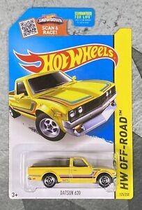 Hot Wheels Datsun 620 Yellow * Kmart Exclusive *