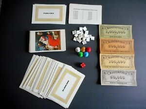 *VINTAGE* Masterpiece Game Pieces 1970 Parker Brothers