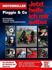 Motorroller Piaggio Viertakter 50 bis 500 ccm Wartung Jetzt helfe ich mir selbst