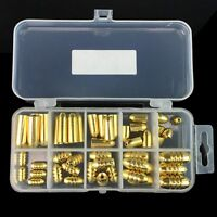 51PCS Assorted Copper Brass Fishing Sinker Set Kit With Durable Tackle Box Case